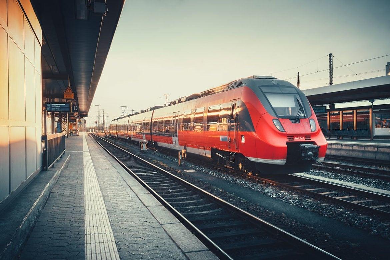 Anreise mit der Bahn nach Forstau