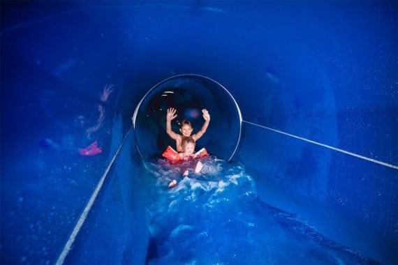 Tunnelrutsche - Erlebnis-Therme Amadé in Altenmarkt im Pongau