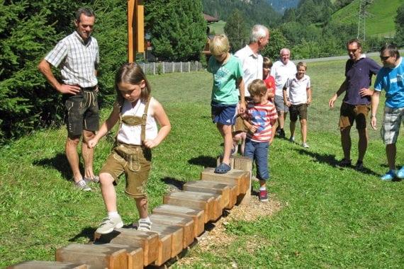 Fitnessweg - Sommerurlaub in Forstau