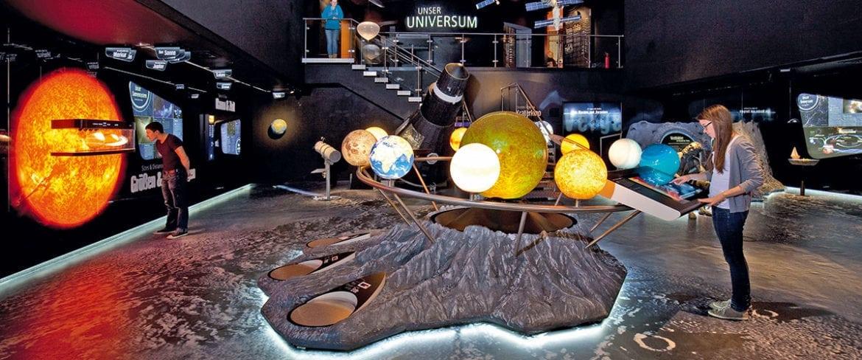 Museum, Universum, Entdecken