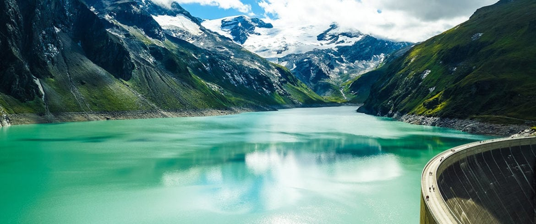 Stausee, Wasser, See, Berge