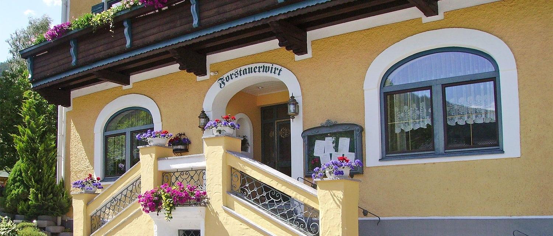 Kontakt & Anfahrt - Hotel Forstauerwirt in Forstau