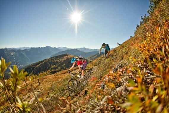 Mountainbiken - Sommerurlaub im Salzburger Land