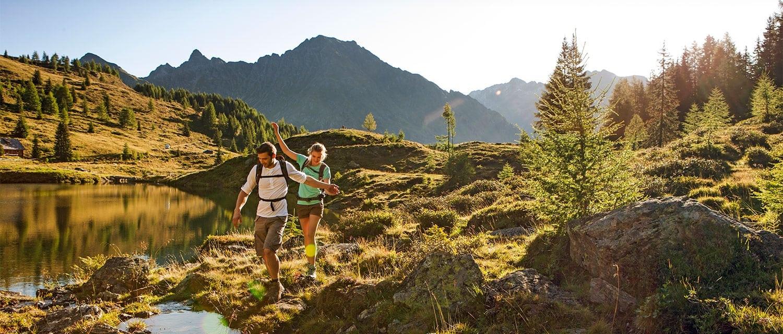 Wandern im Sommerurlaub im Salzburger Land