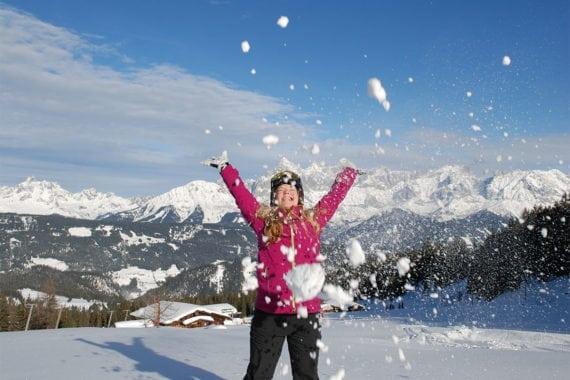 Winterwandern auf der Fageralm, Ski amadé